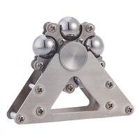 5 Steel Ball Ferris Wheel Stainless Steel Fingertip Spiral Spinning Top Adults EDC Fidget Spinner Stress