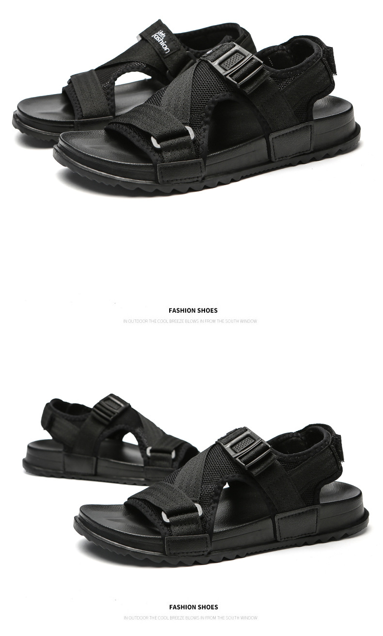 99a9f2e3531 Men Sandals Summer Shoes Outdoor Beach Male Casual Slippers Large ...