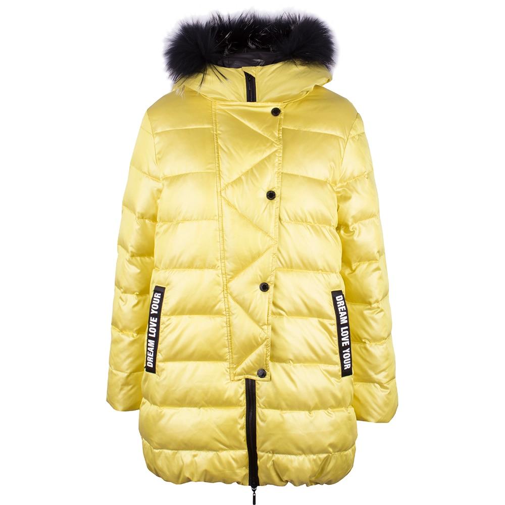 Jackets & Coats Gulliver for girls 21806GKC4504 Jacket Coat Denim Cardigan Warm Children clothes Kids icebear 2018 fashion winter jacket men s brand clothing jacket high quality thick warm men winter coat down jacket 17md811