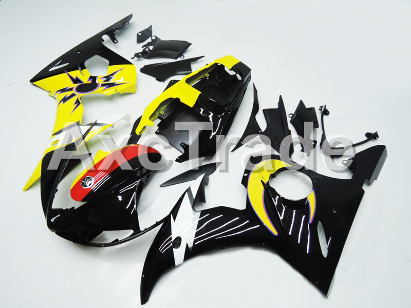 Motorcycle Fairings For Yamaha YZF600 YZF 600 R6 YZF-R6 2003 2004 2005 03 04 05 ABS Injection Molding Fairing Bodywork Kit B403 hot sales yzf600 r6 08 14 set for yamaha r6 fairing kit 2008 2014 red and white bodywork fairings injection molding