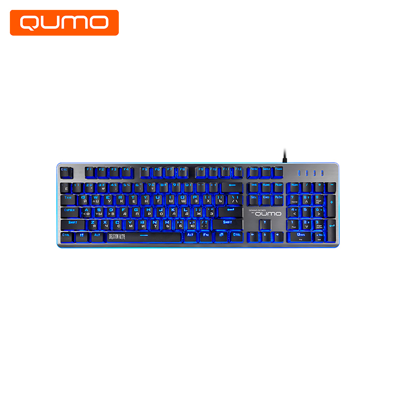 Gaming Keyboard Qumo Rebellion K41 gaming headset qumo jollyroger ghs0010