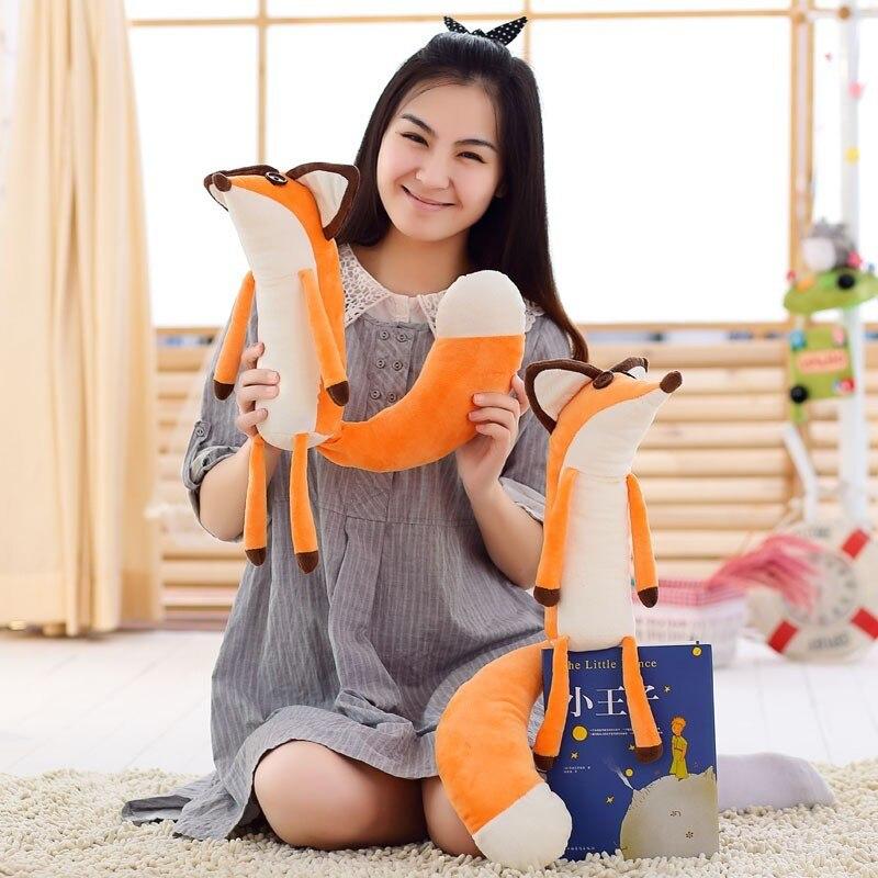 Jouets en peluche Le Petit Prince renard en peluche renard doux kawaii animaux jouets cadeau pour les enfants 60 cm