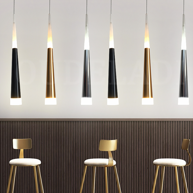1pcs Modern led Conical pendant lights 7W Aluminum acrylic indoor lighting Fixture dining/living room bar cafe hanging lamp1pcs Modern led Conical pendant lights 7W Aluminum acrylic indoor lighting Fixture dining/living room bar cafe hanging lamp
