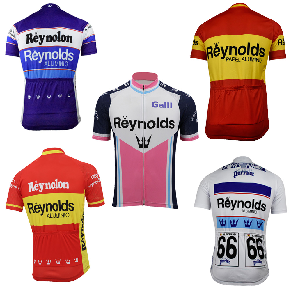 3d9387f81 retro cycling jersey men short sleeve 7 old styles team bike wear  breathable mtb jersey bike clothing riding racing maillot