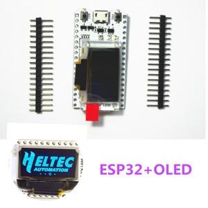 Image 1 - Carte de développement oled ESP32 pour arduino avec module oled bleu 0.96/min USB