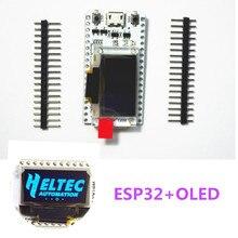 ESP32 oled مجلس التنمية لاردوينو مع 0.96 الأزرق oled وحدة/دقيقة USB