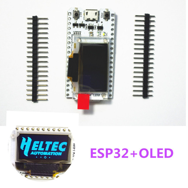 ESP32 oled development board for arduino with 0.96 blue oled module /min USB