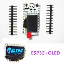 ESP32 oled entwicklung board für arduino mit 0,96 blau oled modul/min USB