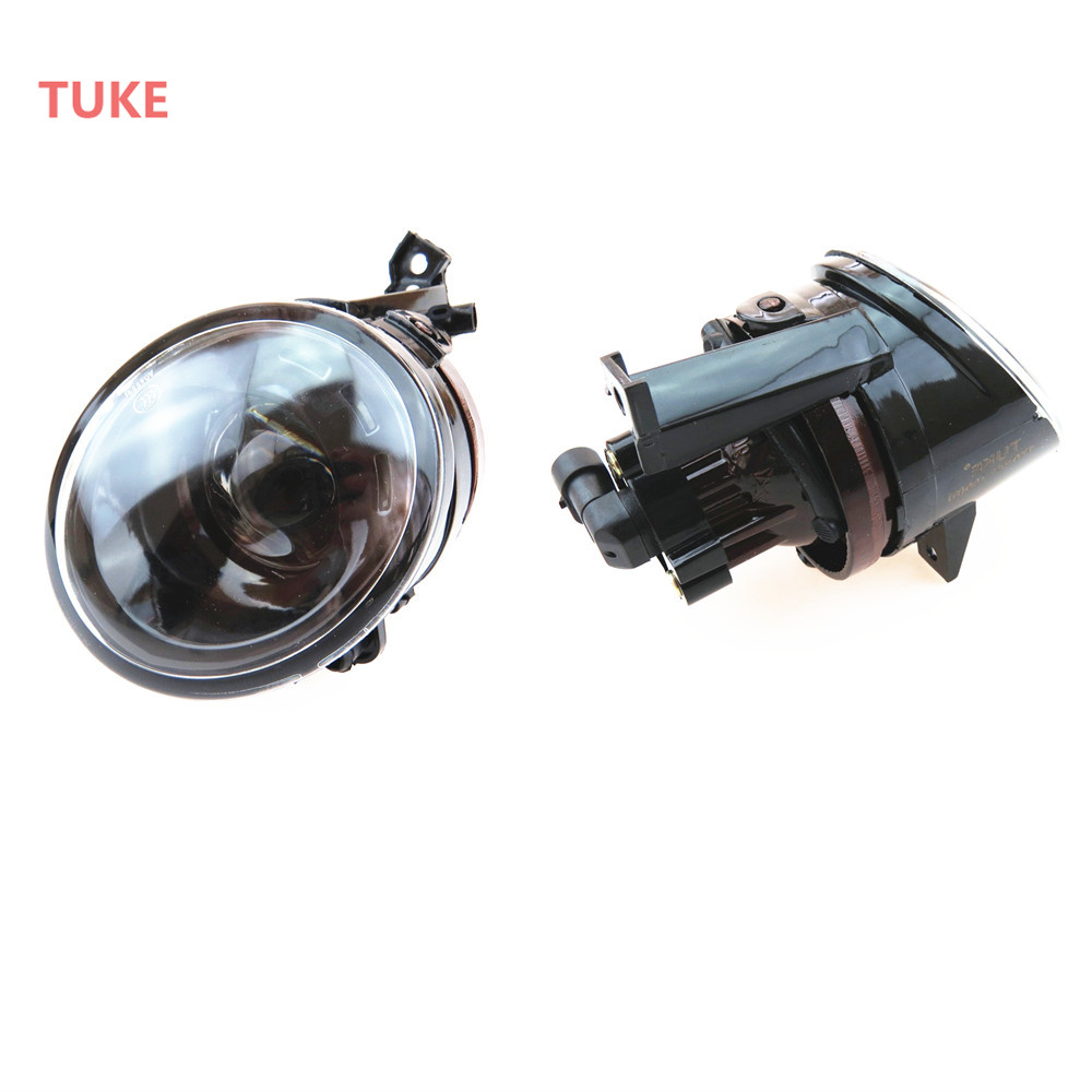 Front Left & Right Convex Lens Fog Lights For VW CADDY TIGUAN EOS GOLF PLUS JETTA MK5 RABBIT 1T0 941 699 C 1T0941700C 1T0941699C free shipping for vw golf 5 golf mk5 2004 2005 2006 2007 2008 2009 new front right halogen fog light fog lamp with convex lense