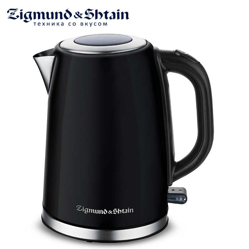 Zigmund & Shtain KE-718 Electric Kettle 2200W 1.7L Water level scale Case material stainless steel Removable filter culligan 1019084 rv water filter