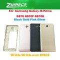 AAA + для Samsung Galaxy J5 Prime G570 G570F G570K Samsung J7 Prime G610 чехол для аккумулятора корпус дверь заднее стекло 4 цвета