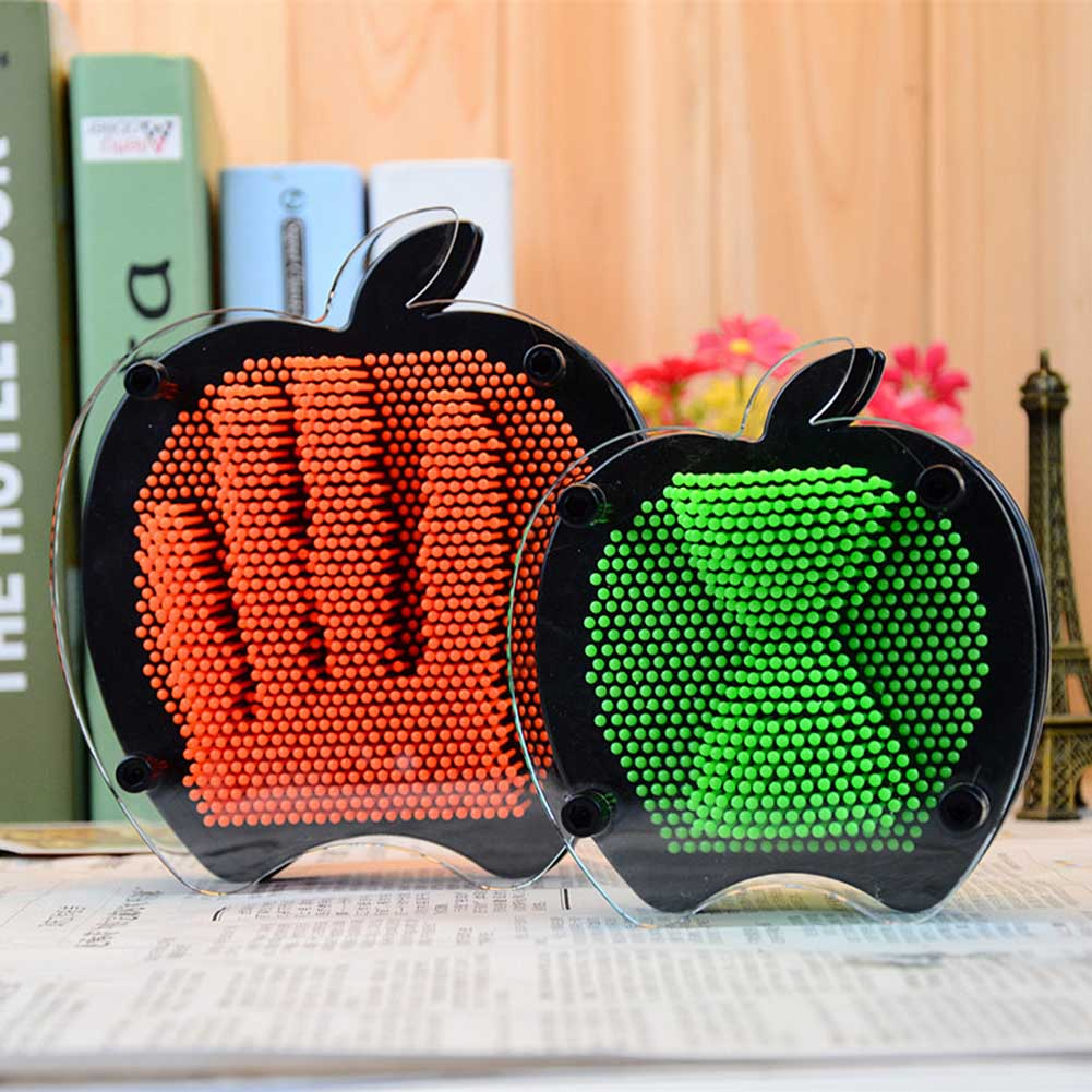 Novelty Toys Funny Apple Shape 3D Plastic Clone Hand Mold Fingerprints Anti Stress Toys Gift for Children Adult