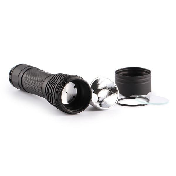 Convoy Aluminum Alloy M1 NEW Version DIY Integrated Head LED Flashlight Host
