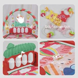 Image 5 - Dropship детский коврик, музыкальная активность, тренажерный зал, пазл, детский коврик, мягкий коврик, напольная игра, развивающие игрушки