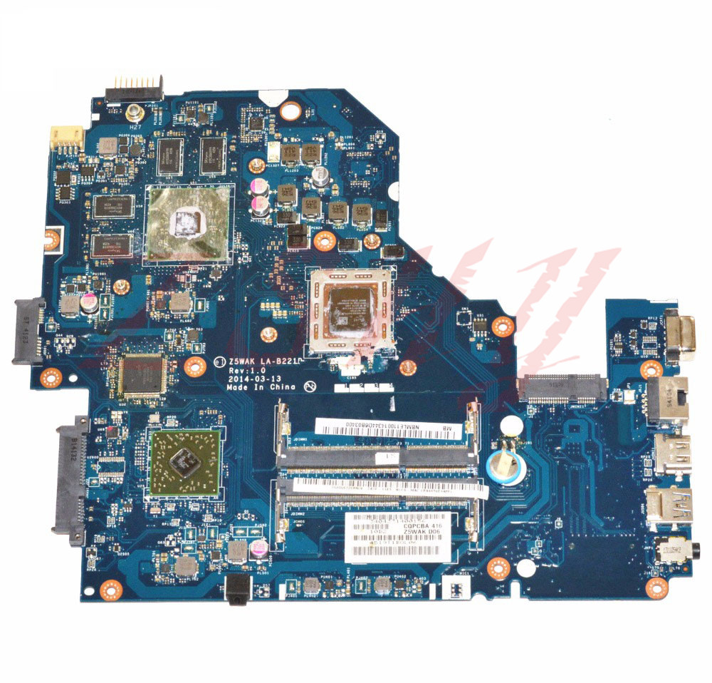 For font b ACER b font E5 551G Laptop Motherboard With A10 CPU R7 M265 2GB