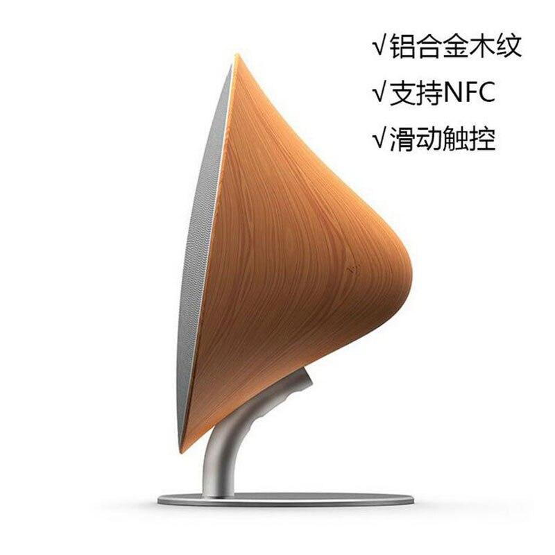 Gratis Verzending Bluetooth Speaker NFC Subwoofer Hoge Kwaliteit Creative Houten High Power Mini Draadloze Sonic - 3
