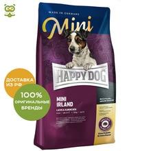 Happy Dog Supreme Mini Irland корм для взрослых собак мелких пород склонных к аллергии, Кролик, 4 кг.