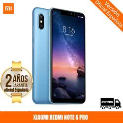 "[Official Spanish version warranty] Xiaomi Redmi Note 6 Pro Smartphones 6.26 ""screen with notch 3GB 32GB, dual SIM"