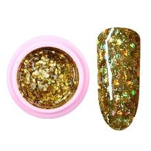 8ml nail glitter Sequins powder uv gel polish hybrid semi permanent soak off led nail gel varnish long lasting nail Lacquer цена 2017