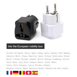 Image 3 - 유럽 eu 플러그 어댑터 일본 중국 미국 유니버설 영국 미국 au eu 여행 전원 어댑터 변환기 전기 충전기