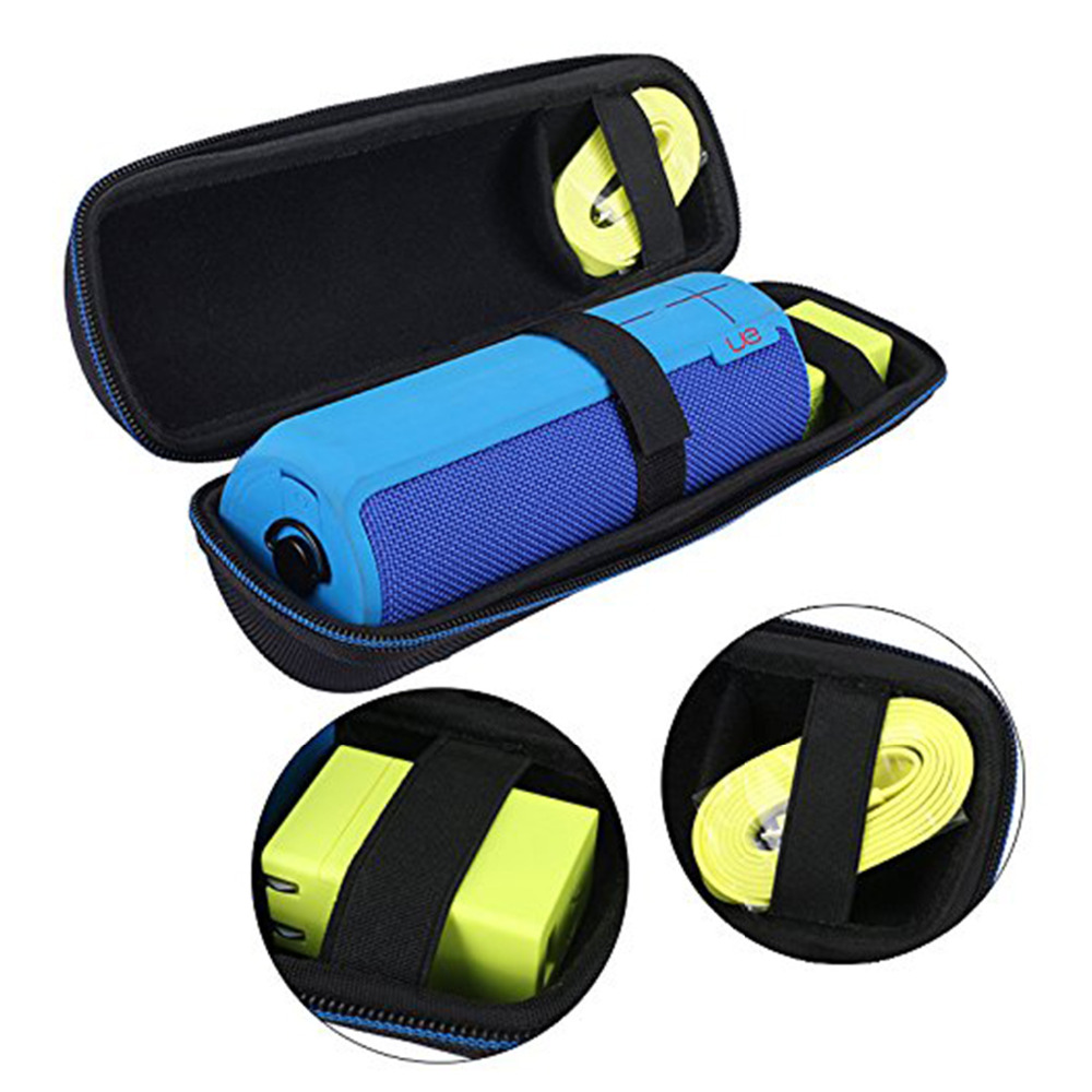 Portable EVA hard Case Protective Cover Pouch Bag For Logitech UE BOOM UE BOOM 2 DKnight Big MagicBox Bluetooth Speaker