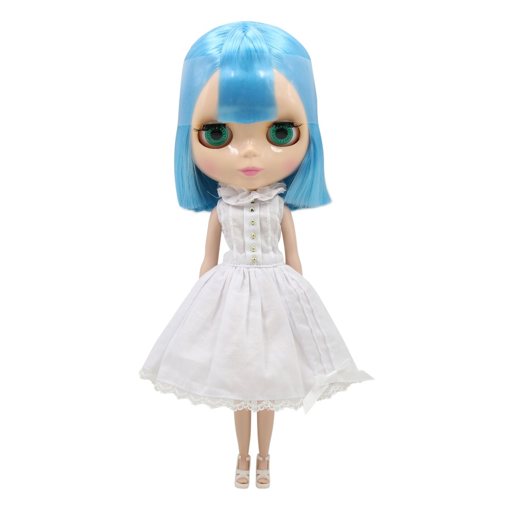 Factory blyth doll Nude Doll Ayanami Rei short BLUE HAIR normal body 30cm 1/6 BL6203 fastnet force 10 rei paper only