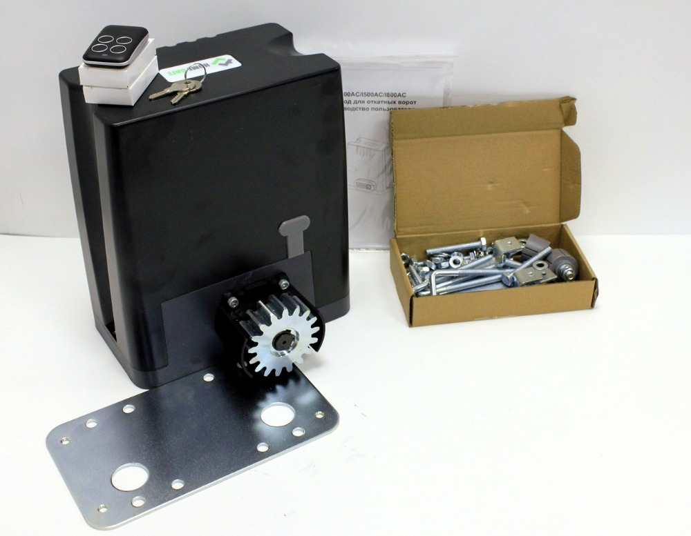 Drive kit DKC800 with mounting plate