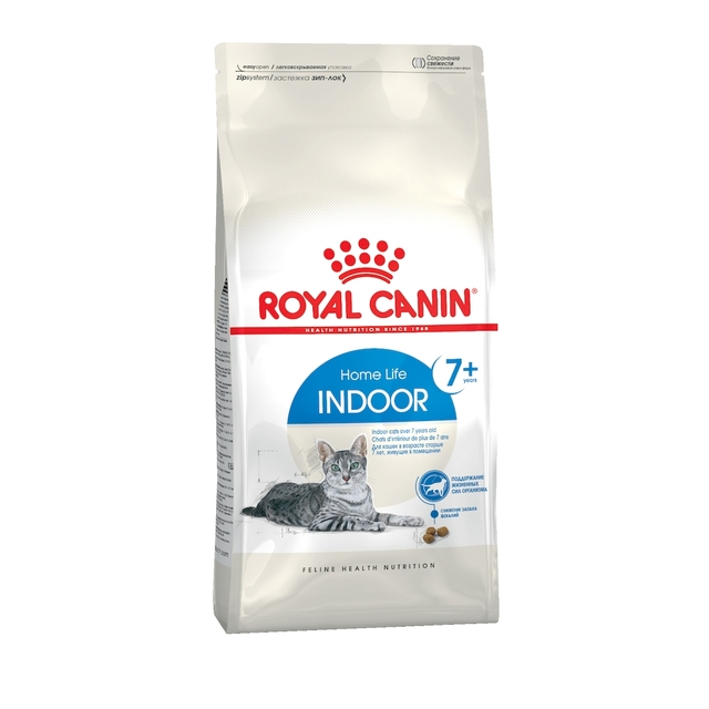 Royal Canin Indoor 7+ корм для пожилых кошек, постоянно проживающих в помещении с 7 лет, 3,5 кг