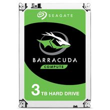 "Seagate Barracuda ST3000DM007, 3.5"", 3000 GB, Serial ATA III, 256 MB, Unidad de disco duro(China)"