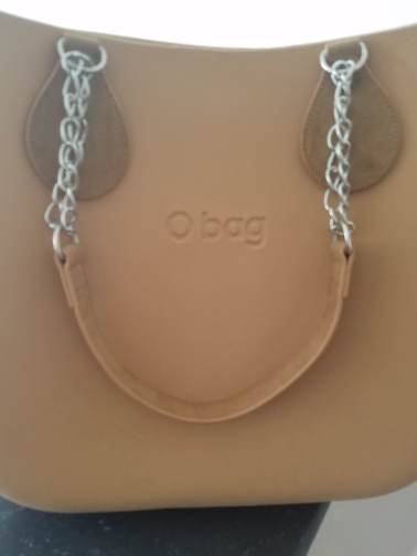 tanqu 1 paar nubuck leer rand schilderen pu ketting handvat met traan voor o tas voor EVA Obag vrouwen tas photo review
