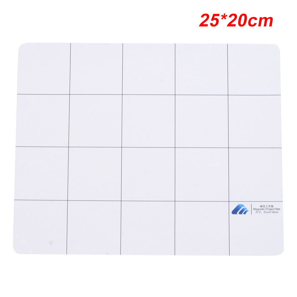 25x20cm Universal Magnetic Design Working Pad Mat Repair Tool Screw Sort Guard Keeper Chart Mat For Repairing Phone for xiaomi in Phone Accessory Bundles Sets from Cellphones Telecommunications