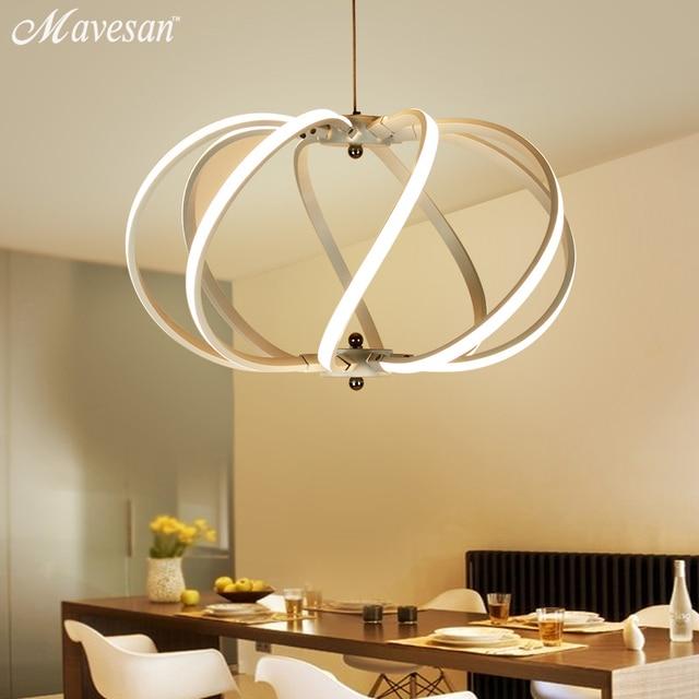 Moderne LED Einfachen Pendelleuchten Lampe Für Wohnzimmer Lustre ...