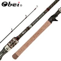 OBEI Carbon Casting   Fishing     Rod   30 Ton Carbon Fiber 2.04m ,2.28m,MH, H, XXH Power   Fishing   LURE Pole Travel   Rod