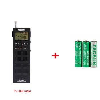 Радиоприемник TECSUN PL360 World Band DSP, ETM, AM/FM/SW, PLL 4