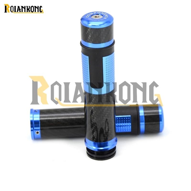 Лидер продаж! CNC 22  24 мм Мотоцикл углеродного волокна Рука ручка Руль управления для мотоциклов Кепки для Suzuki gsx-s750 GSX-S GSX 650f 750 1000 1250 1400