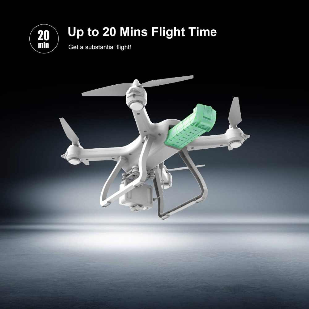 الحجر المقدس HS700S RC الطائرة بدون طيار لتحديد المواقع فرش السيارات 5G 1080P FHD واي فاي طائرة بدون طيار FPV 400M FPV لتحديد المواقع RC هليكوبتر كوادكوبتر