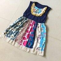 Summer 100 Cotton Baby Girls Dress Dots Sleeveless Infants And Children Clothes Kids Enfant Dress Ruffle