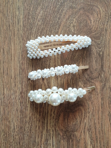 2019 Popular Fashion Pearl Hairgrip Women Girls Hair Clips Bobby Pins Accessories For Women Barrette Hairclip Hairpin Headdress
