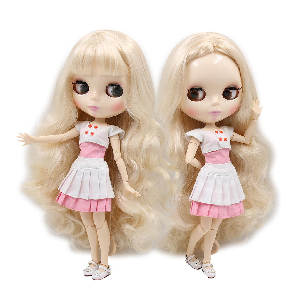 ICY factory blyth doll Blonde hair white skin with without bangs 30cm 1 6 BL3139 340