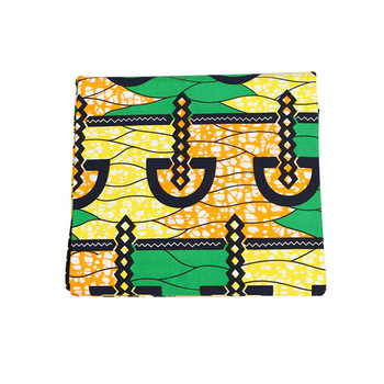 mylb Ankara African Polyester Wax Prints Fabric Super Hollandais Wax High Quality 6 yards African Fabric for Party Dress 1