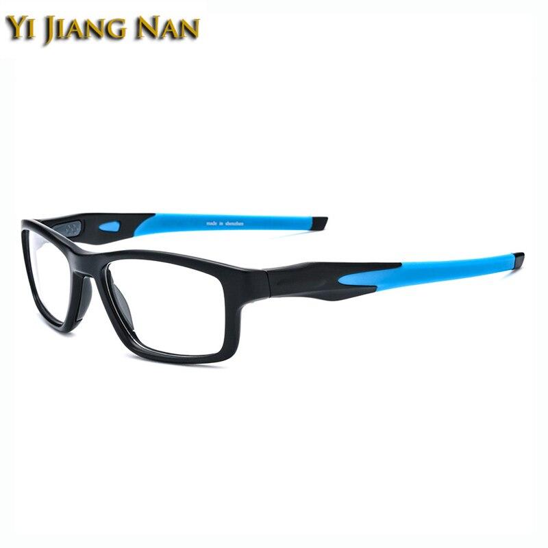 Yi Jiang Nan Brand Sports Glasses Cycling Men Spectacle Frames Quality TR90 Glasses Optical Prescription Occhiali