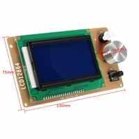 1 Pc imprimante 3D RAMPS1.4 lcd 12864 Module Lcd de contrôle réglable grand écran 12864 LCD 3 (pouces) carte mère intégrée carte SD