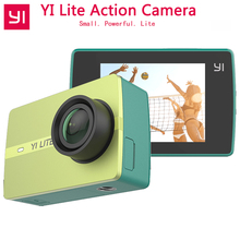 Xiaomi YI Lite Action Camera 16MP Real 4K Sports Camera with Built-in WIFI 2 Inch LCD Screen 150 Degree Wide Angle Lens