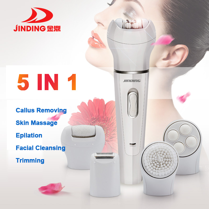 5 In 1 women Shaver Electric female epilator facial hair removal Remover women shaver lady Shaving Machine for  bikini,body,face5 In 1 women Shaver Electric female epilator facial hair removal Remover women shaver lady Shaving Machine for  bikini,body,face