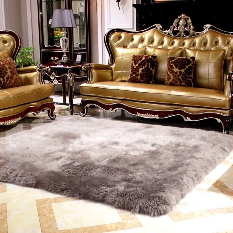 Australian 100% Plush Wool Carpets For Living Room Bedroom Rugs Coffee Table Area Rugs Soft Children Play Home Area Rugs Mats