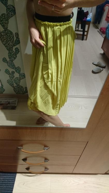 Toyouth Chiffon Skirts Women High Elasticity Waist Pleated Long Summer Skirt Casual Faldas Mujer 2019 Solid Midi Saias S~XL