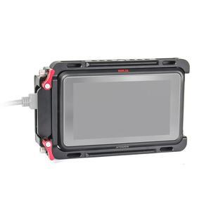 "EachRig Monitor Cage with built-in NATO Rail and Extra HDMI Cable Clamp for ATOMOS Ninja V Shinobi 5"" Camera Monitor(China)"