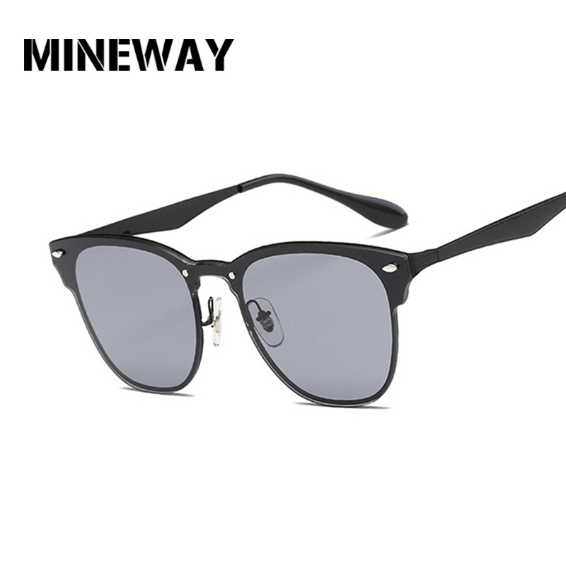 Women's Sunglasses Apparel Accessories Dutiful Mineway Women Sunglasses Oval Fashion Female Men Retro Reflective Mirror Sunglasses Colorful Famous Brand Designer Oculos Bracing Up The Whole System And Strengthening It