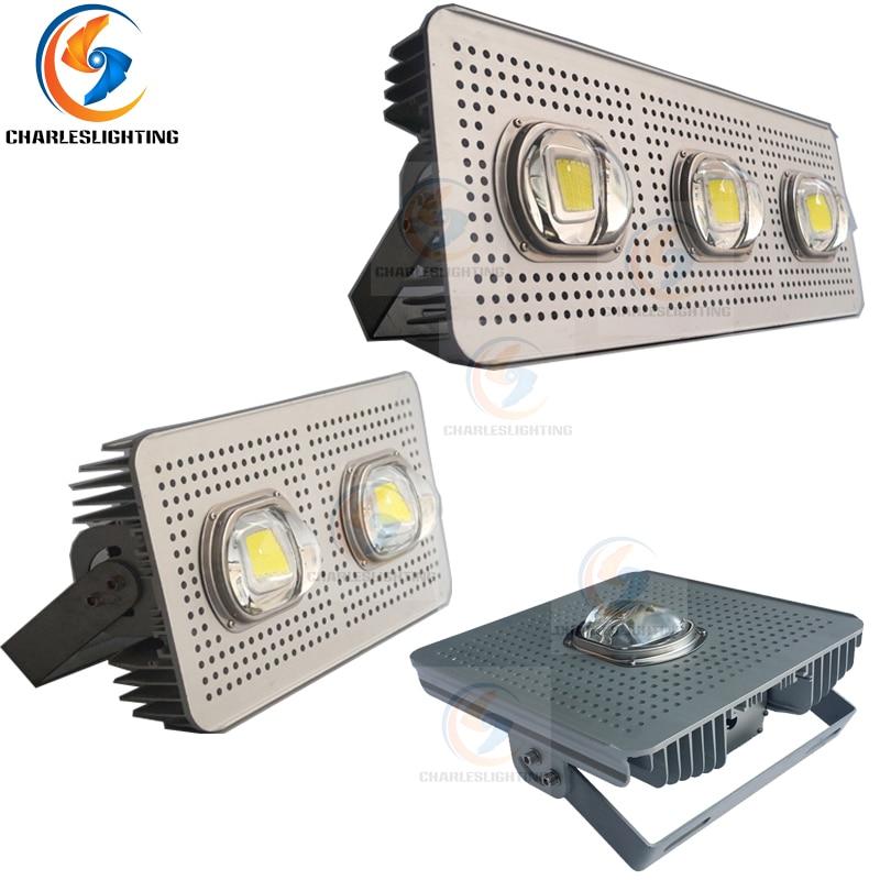 CHARLESLIGHTING 3 Years Warranty CE FCC LED Floodlight 100W 200W 300W IP 65 Aluminum Housing Ultra Brightness Project Litghts