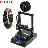 Ortur4 настольный с послойным наплавлением 3d принтер машина все линейные направляющие высокоскоростные 3D-принтеры с обновлением печатной пла...